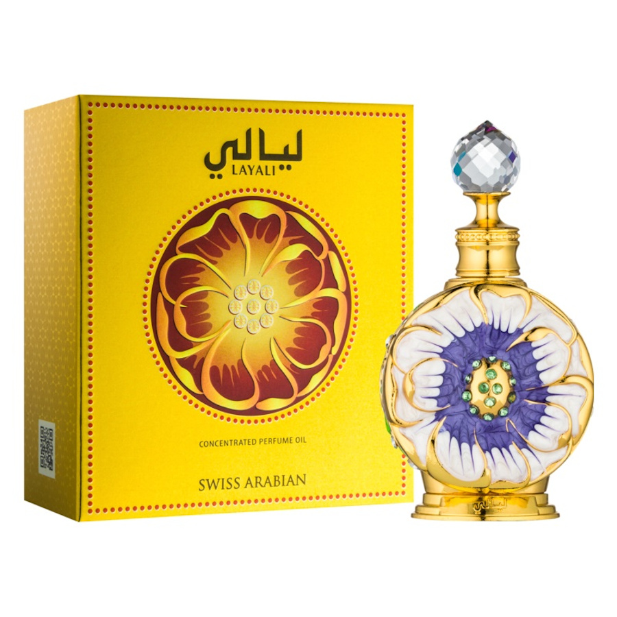 Best Alcohol Free Perfume For Women - LAYALI By Swiss Arabian