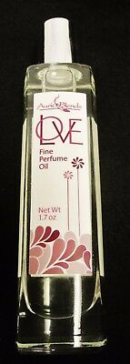 Best Alcohol Free Perfume For Women - LOVE by Auric Blends