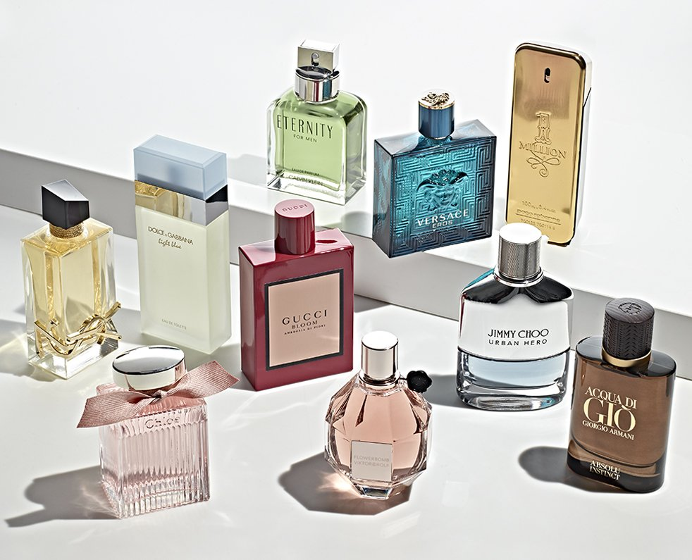 Concentration of Fragrance - Perfume Types
