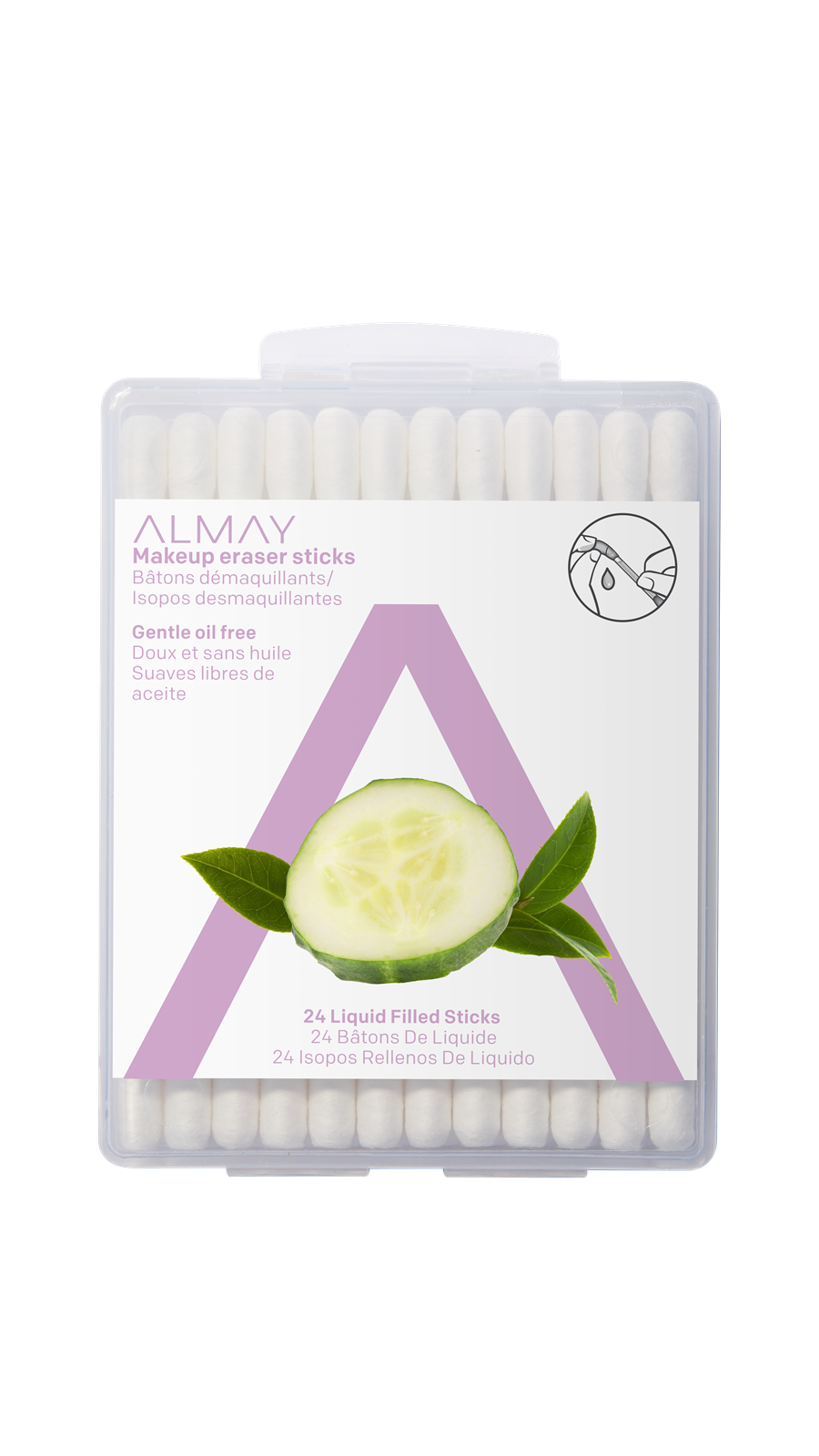 Almay Makeup Eraser Sticks - Makeup Remover