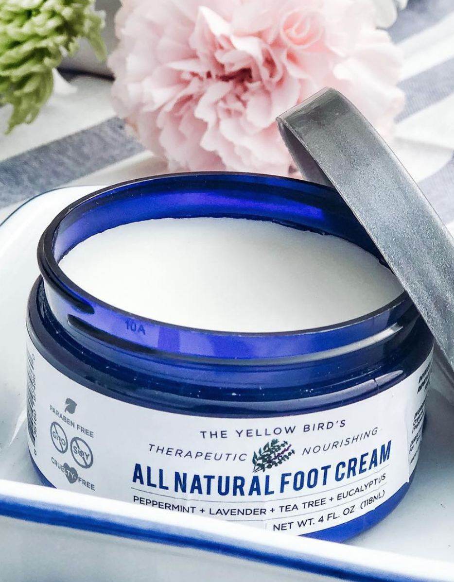 Best natural foot cream