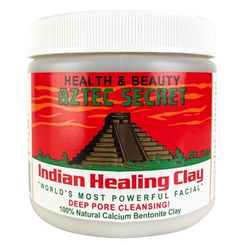 Aztec Secret - Indian Healing Clay - 2 lb. | Deep Pore Cleansing Facial & Body Mask - Best Indian Face Mask for acne