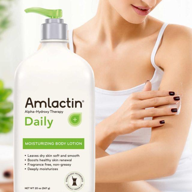 AmLactin lotion to get rid of butt acne - treatment of butt acne