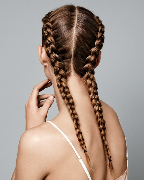 French Braid with Waves - trending hair styles for teen girls