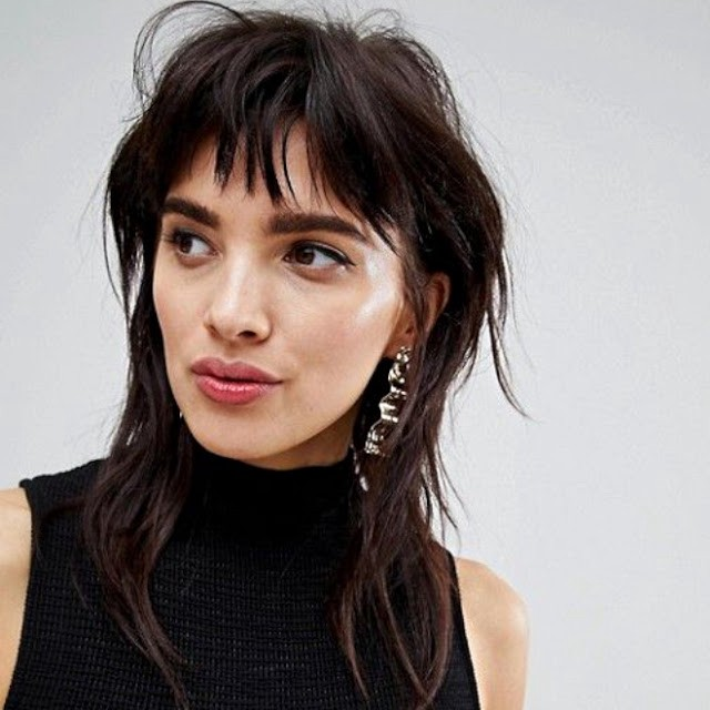 Mullet Hairstyle - Trending Hair Style for tom boy girls