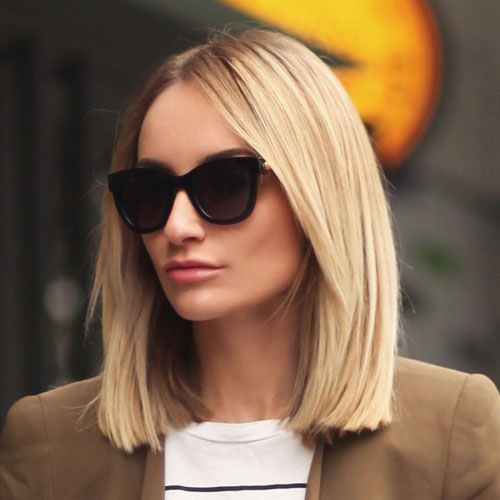 The Blunt Bob Hairstyle - Trending Hair Style